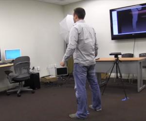 Quét 3D mô phỏng Game - Microsoft Kinect