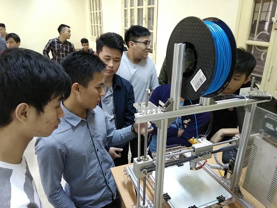 SDLs hợp tác với ĐH Thủy lợi về công nghệ 3D - 2