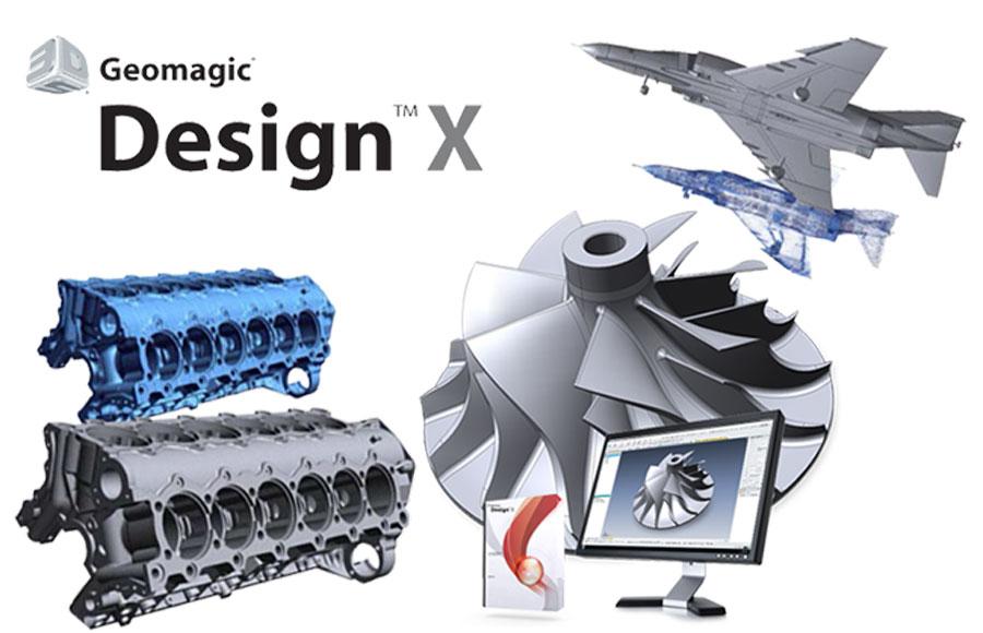 Phần mềm thiết kế ngược 3D – Geomagic Design X